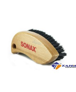 ban chai long duoi ngua sonax textile leather brush