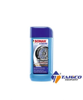 dung dich lam bong lop xe sonax tyre gloss gel 235100 250ml