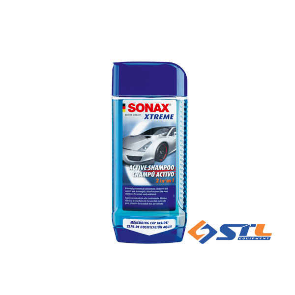 dung dich rua xe sonax xtreme active shampoo 2 in 1
